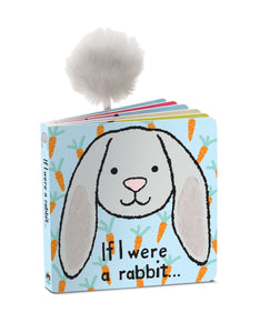 New Jellycat Board Book If I Were a Rabbit
