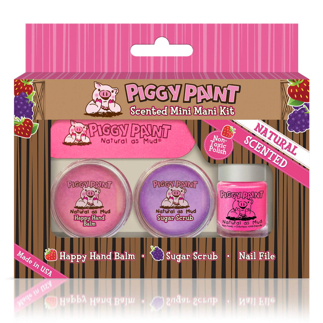New Piggy Paint Scented Mini Mani Kit