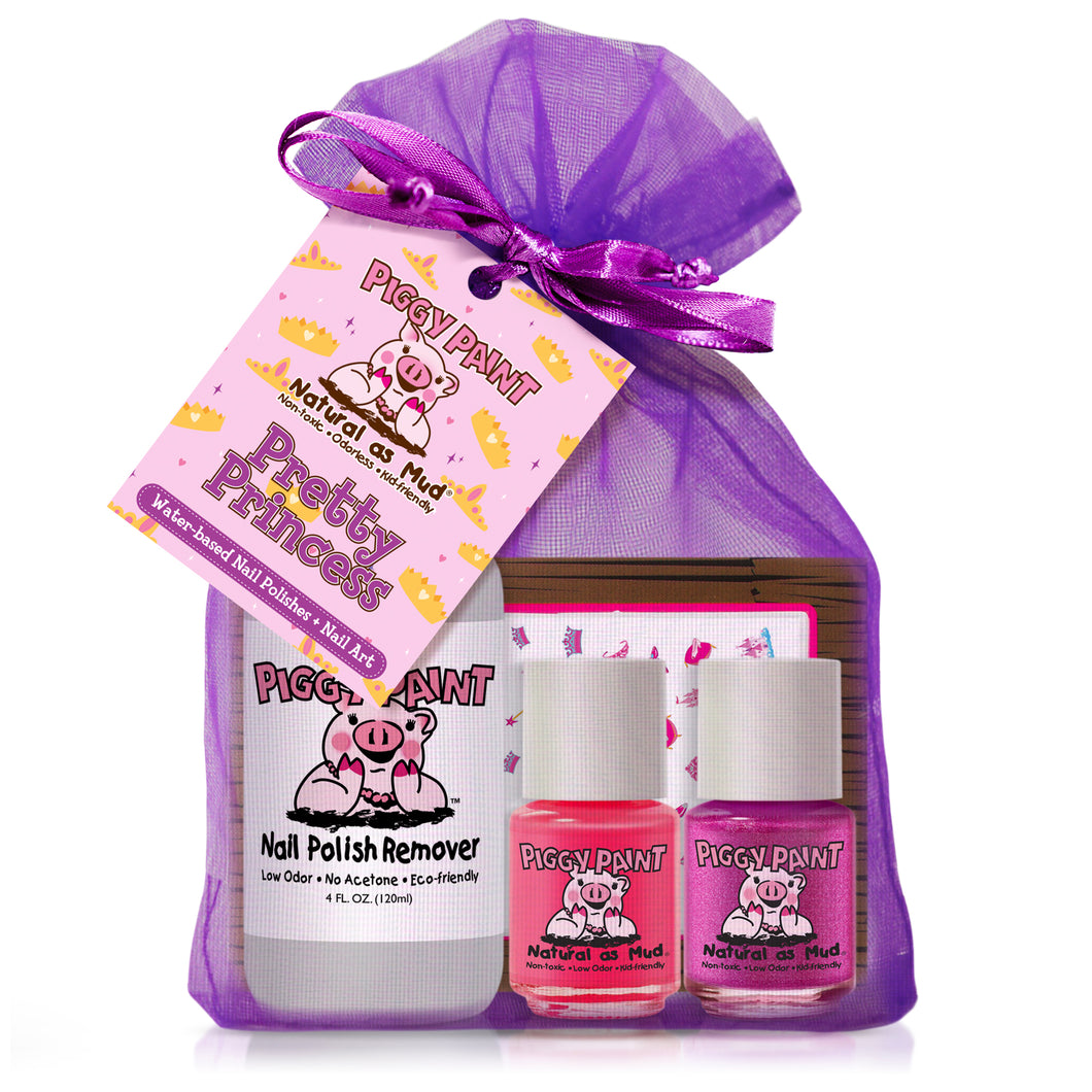 New Piggy Paint Pretty Princess Nail Polish Set