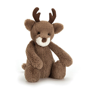 New Jellycat Bashful Reindeer Medium 12""