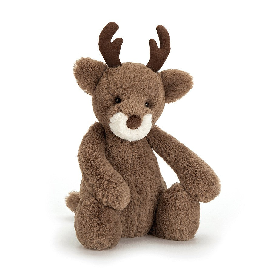 New Jellycat Bashful Reindeer Medium 12
