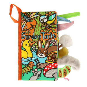 New Jellycat Tails Soft Books (Multiple Options)