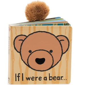 New Jellycat Board Book If I Were a Bear
