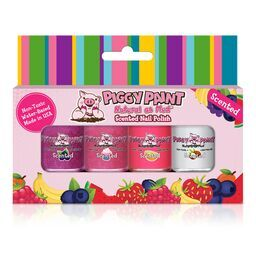 NEW Piggy Paint Sweet Treats Scented Nail Polish Set