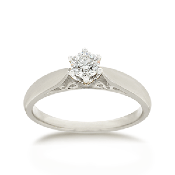 18ct Round Brilliant-cut 0.30ct Diamond Solitaire
