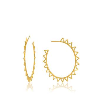 Ania Haie Gold All Ears Spike Earrings