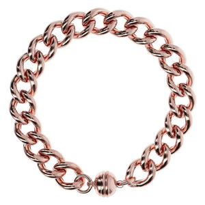 Purezza Curb Link Bracelet with Magnetic Clasp