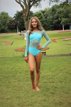 Load image into Gallery viewer, Vortex Long Sleeve Leotard (various colour options)
