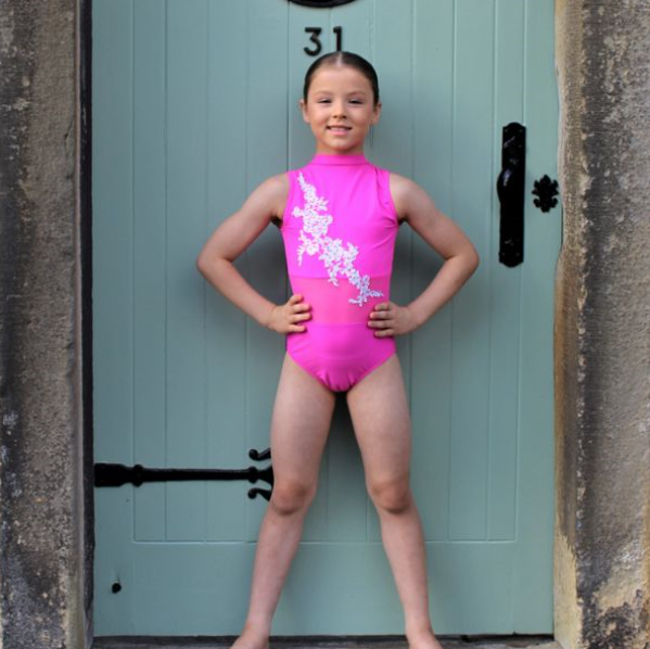 Hannah Glitz Leotard  (various colour options)