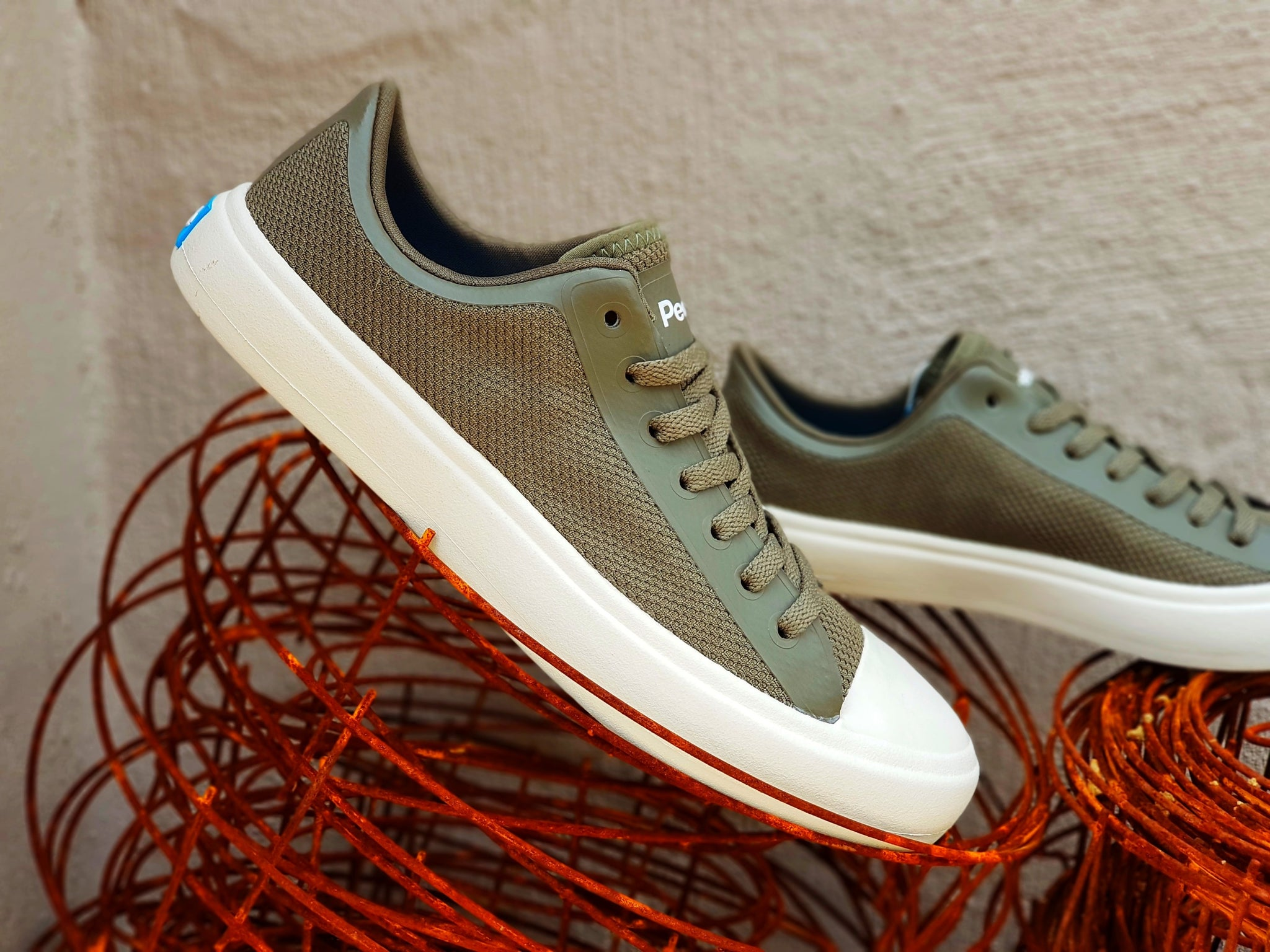 People Footwear - The Phillips (Bunker Green / Picket White)