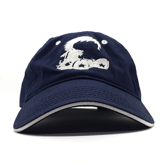 Fresh Kicks - Logo Dad Cap ( Navy/White)