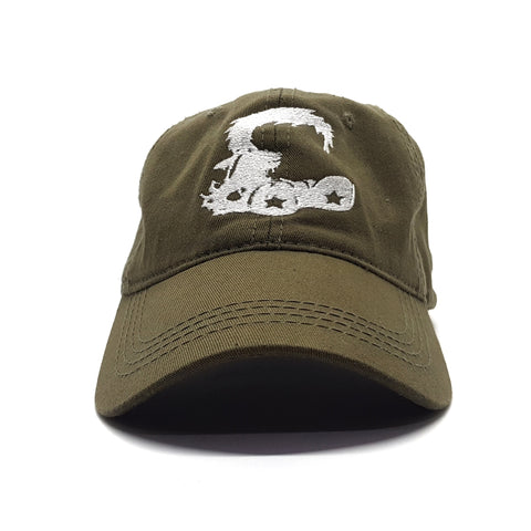 Logo Dad Cap (Aged Brown)