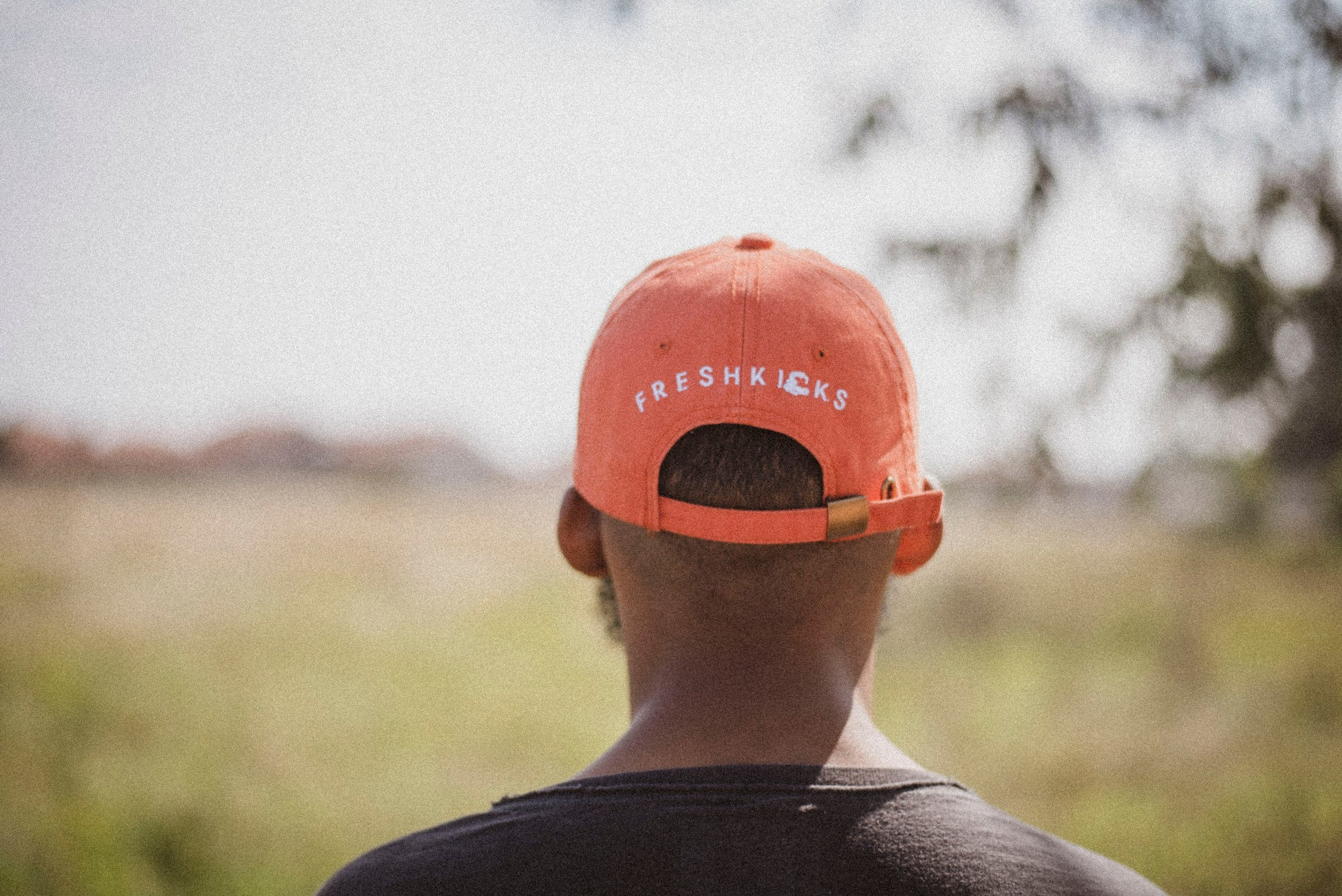 Logo Dad Cap (Burnt Orange)