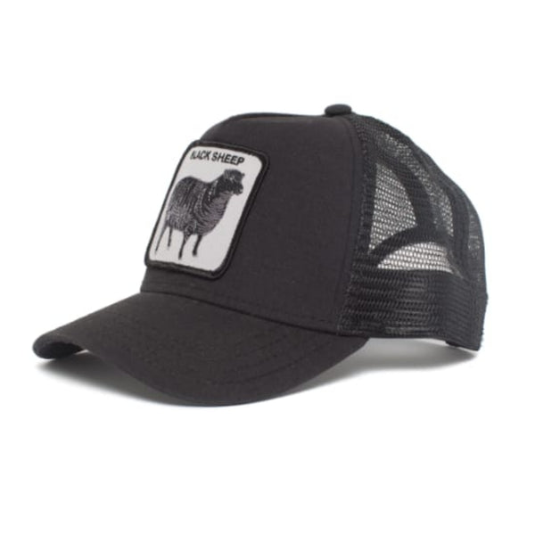 Black Sheep Trucker Cap (Black)