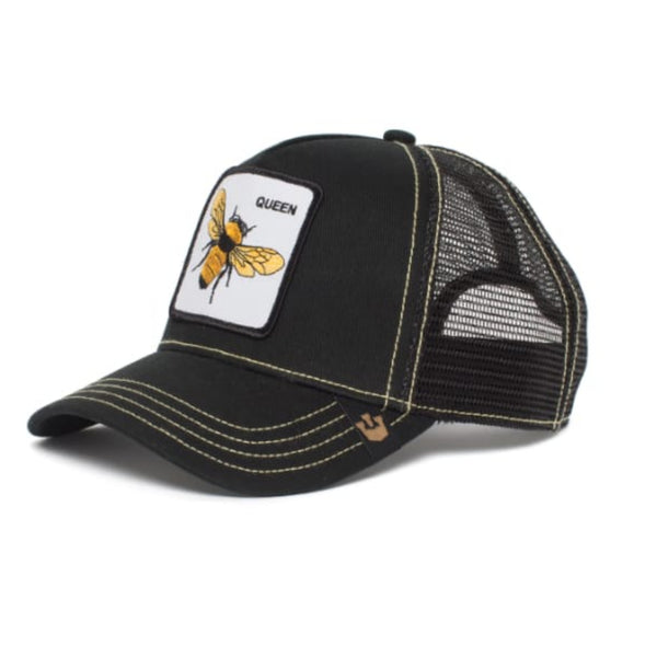 Queen Bee Trucker Cap (Black)