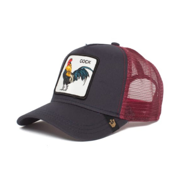 Prideful Trucker Cap (Black / Maroon)