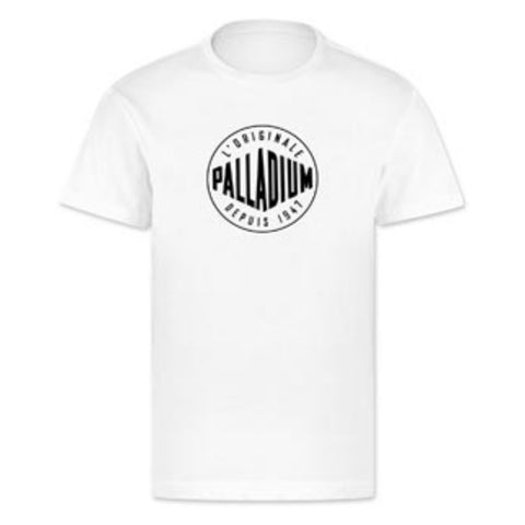 Palladium - Logo T-Shirt (White)
