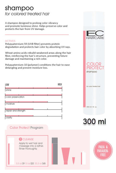 EC Color Protect Shampoo 300 ml