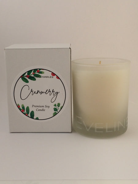 Scented Candle CranMerry