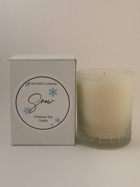Scented Candle Snow