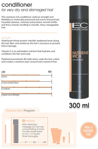 EC Nutrient Rich Conditioner 300 ml