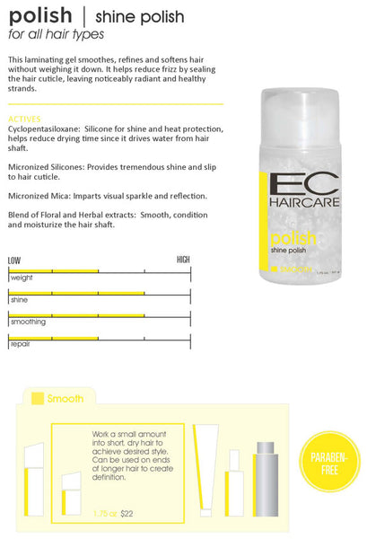 EC Haircare Shine Polish 50g