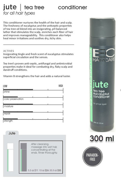 EC Jute tea tree eucalyptus conditioner 300 ml