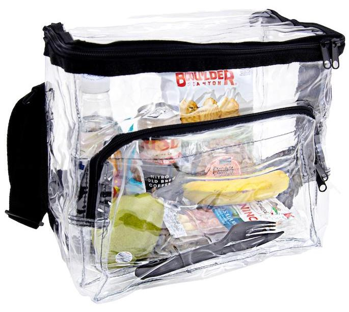 Clear Lunch Bags