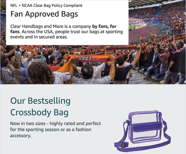 wholesale tote bags stadium approved