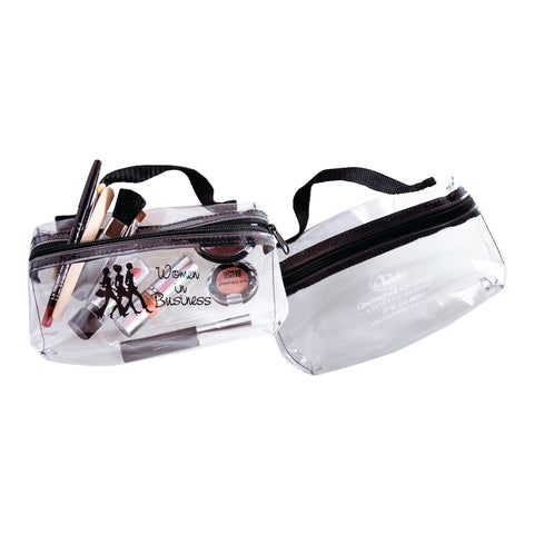 clear organizer pouch bags
