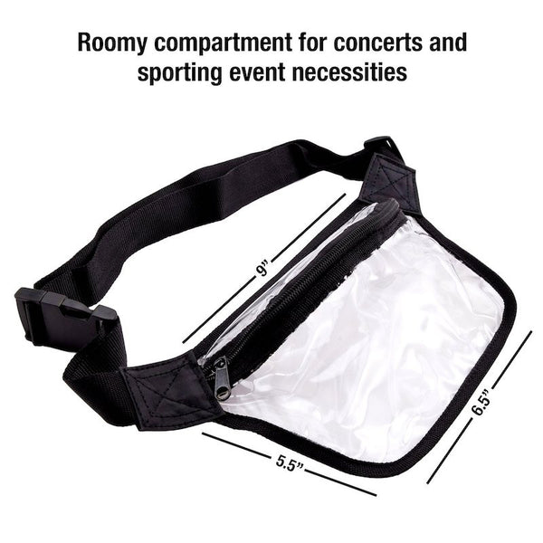 clear fanny pack for men and women