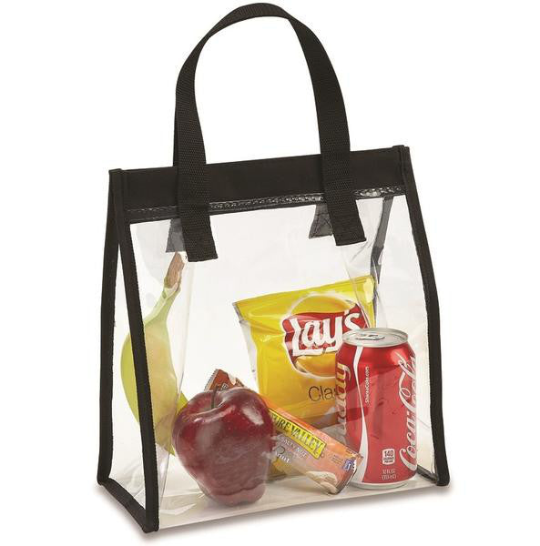 clear lunch bag for work