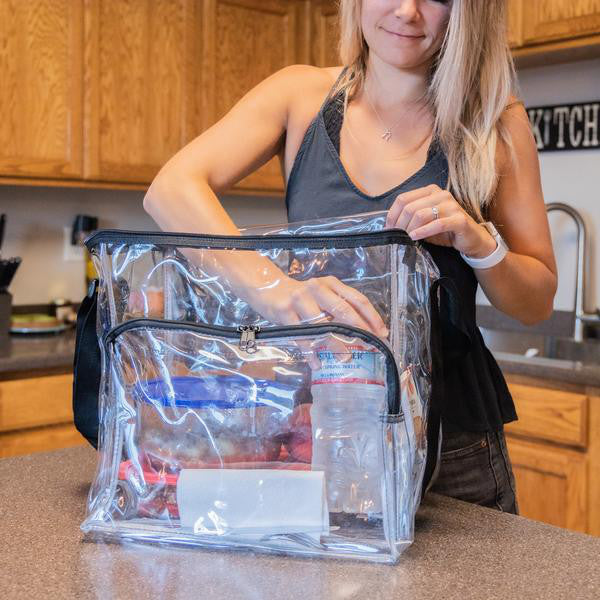 clear lunch bags for corrections