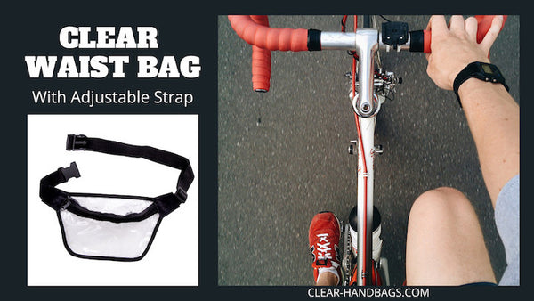 clear plastic waist bag