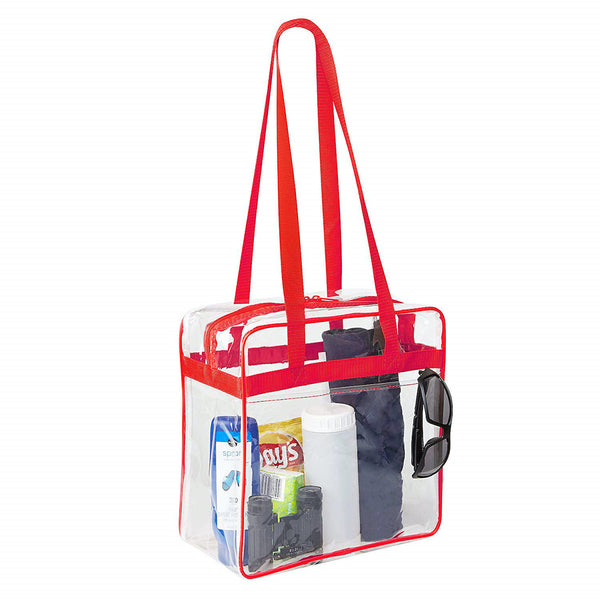 clear stadium approved tote bag