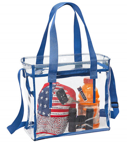 clear stadium bag in bulk
