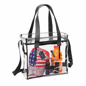 clear stadium purse for women