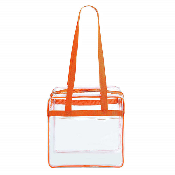 clear stadium tote bag 12x12x6