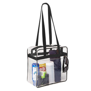 clear tote bag for women