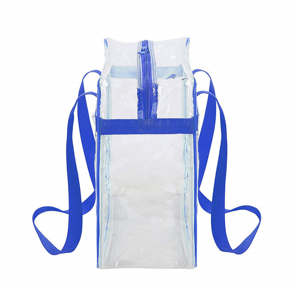 clear tote bag for football games