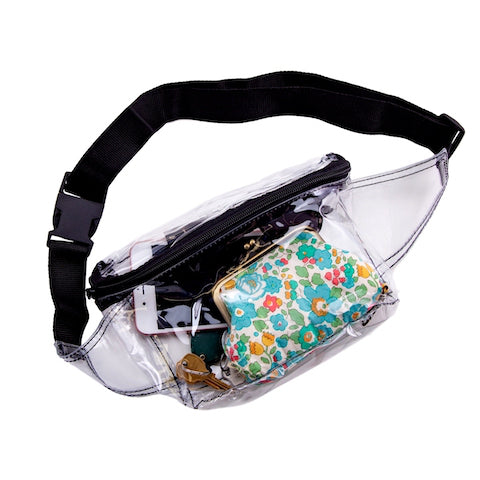 fanny pack transparent