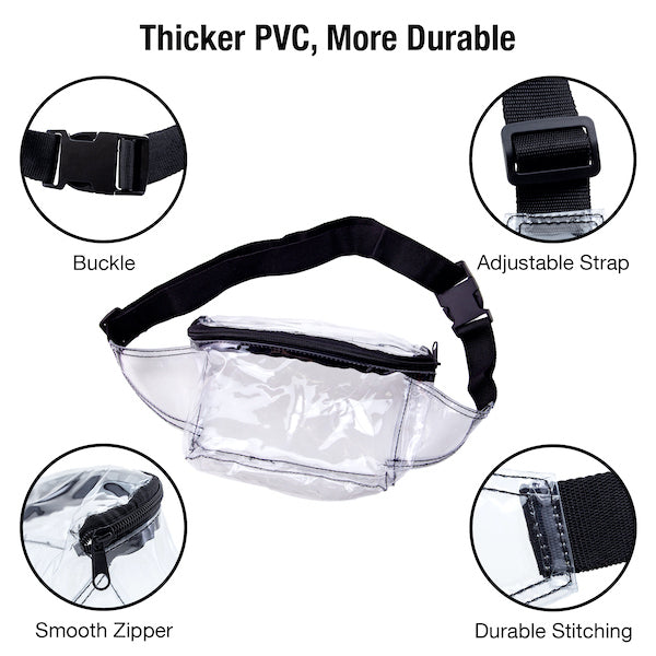 Stadium Approved Fanny Pack Square (CH-219S)