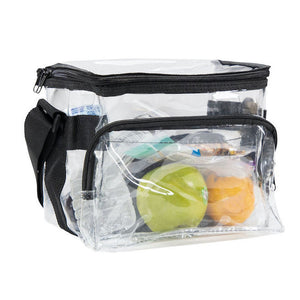 lunch bags transparent