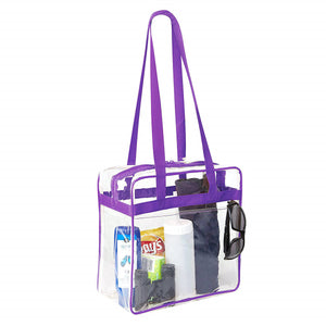 stadium approved clear bags