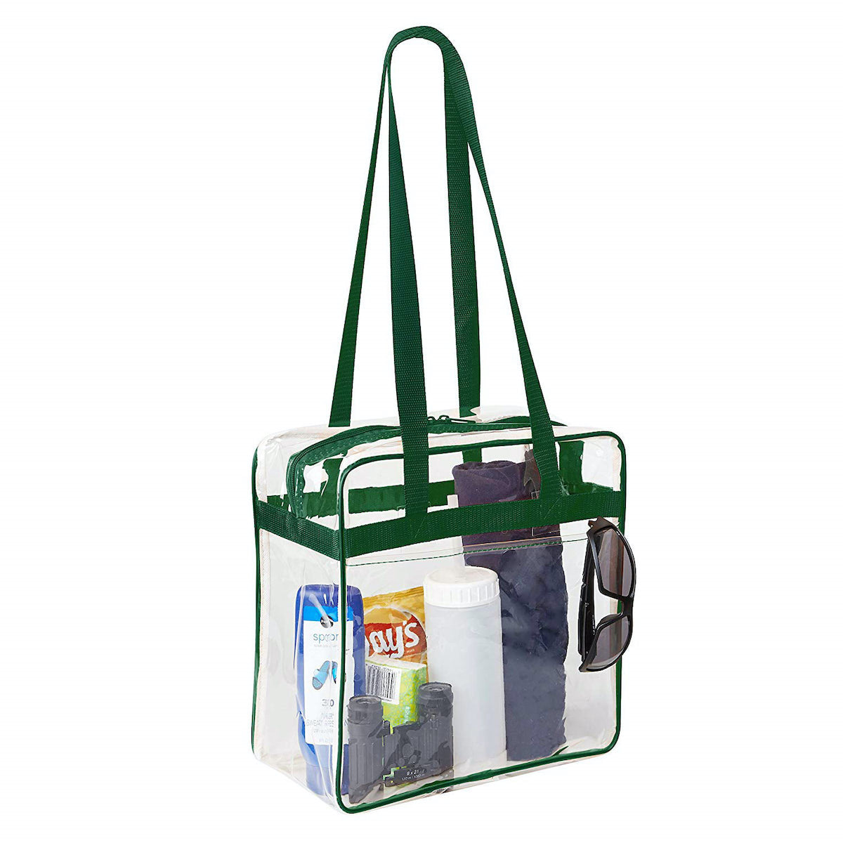 transparent stadium approved tote bag