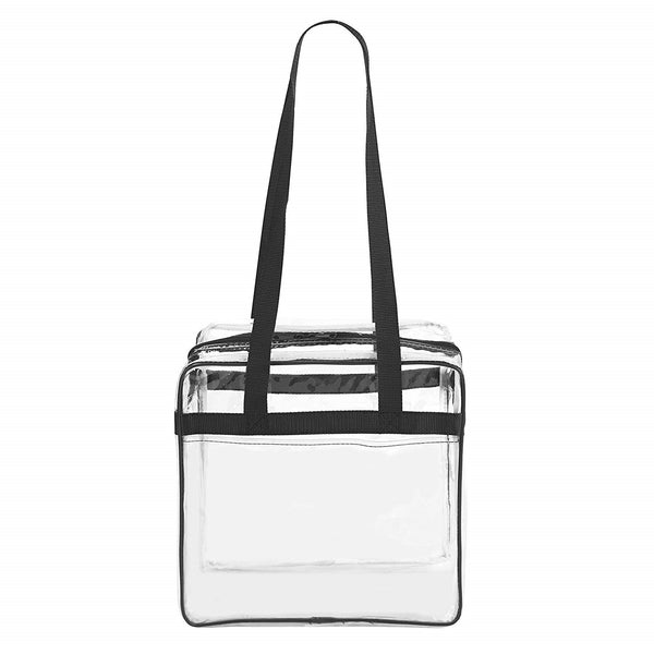 transparent stadium tote bag for women