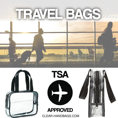 tsa approved clear travel bag