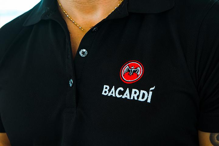 Bacardi Polo Shirt