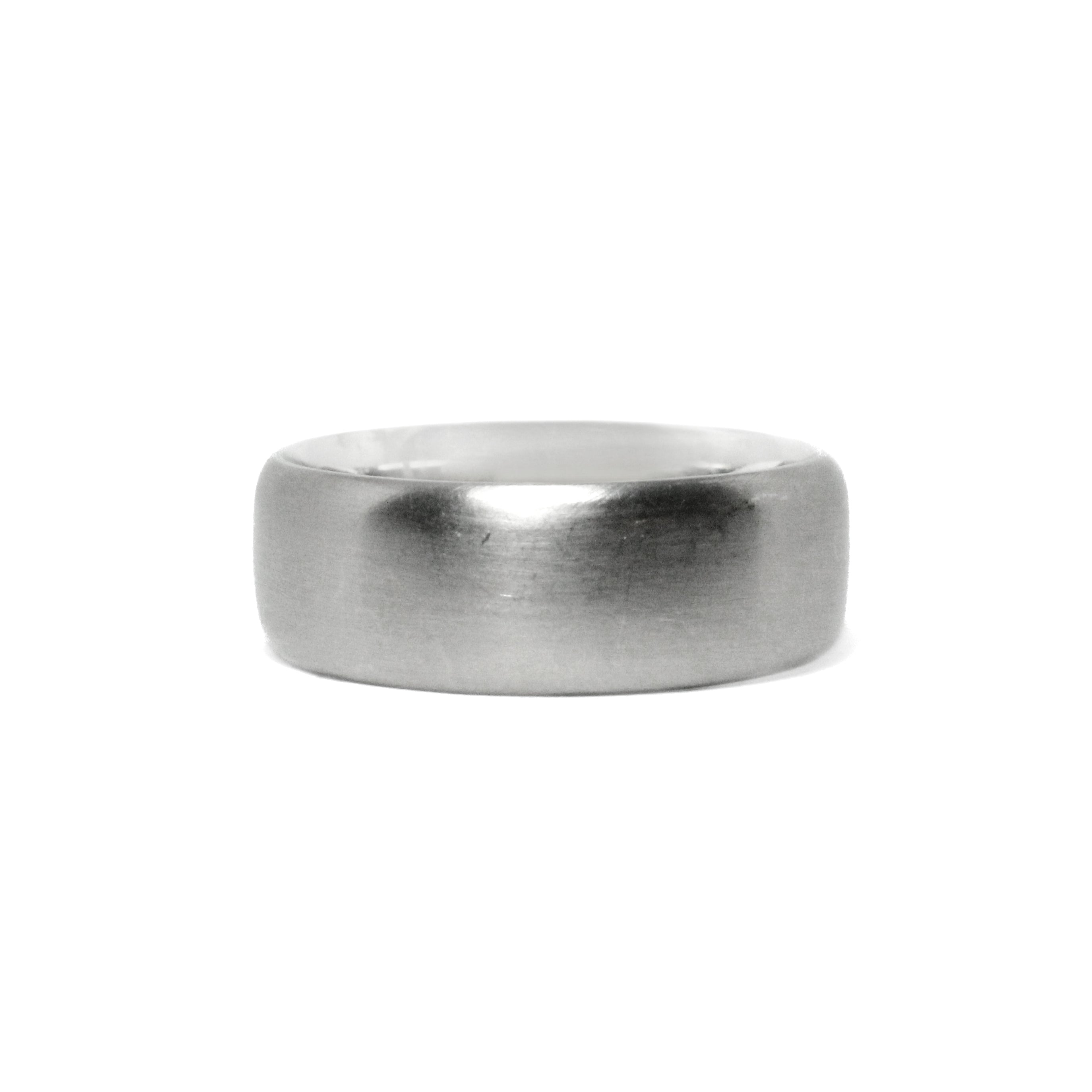 white gold 8mm band
