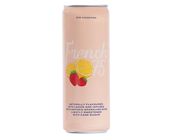 French 75 Cocktail - 355mL